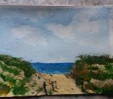 Acrylbild Strand - Elsfleth