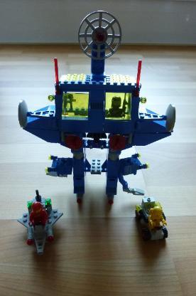 "LEGO Raumfahrt 6951 ""Space Robot Command Center"""