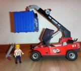 Playmobil 5256 - Großer Containerstapler / City Action - Bremen