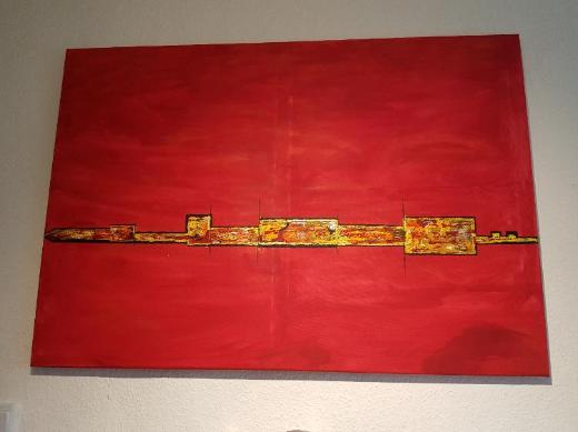 Sehr schönes selbstgemaltes Acrylbild auf leinwand. - Oldenburg (Oldenburg)