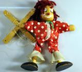 "Marionette aus Holz ""Clown"" - Achim"