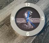 Shelby GT500 Super Snake Wanduhr Metall / Glas 25 cm Durchmesser - Stuhr