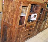NEU: WOLF Möbel - Vitrine Akazien Holz: 160 x 142 cm - Delmenhorst