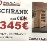 Neu: Schrank von Wolfmöbel, Echtholz - Eiche - Delmenhorst
