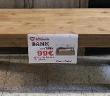 Neu: Bank von Wolfmöbel, Echtholz - Akazie - Delmenhorst