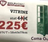 Neu: Vitrine von Wolfmöbel. Echtes Holz - Delmenhorst