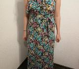 Sommerkleid Blumenprint bodenlang Größe S ungetragen - Weyhe