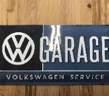 VW Blechschild VW Garage Service Volkswagen - Bremervörde