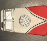 Schutzhülle beige/rot Volkswagen Bulli iPhone 6 - Bremervörde