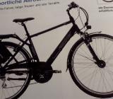 Trekking E Bike schwarz matt - Bremen