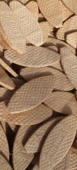 0,1 Kg LAMELLOS (Gr 20) ca. 35 Stück,  5,- € - Formfedern -  Verbindungsplättchen - Holzverbindungsplättchen - Holzlamellen - Worpswede