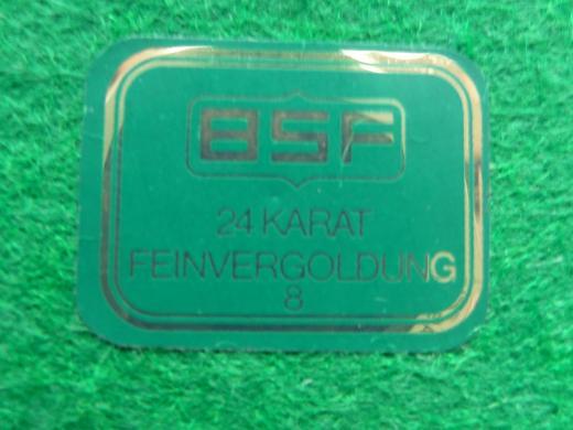 Kerzenhalter von BSF mit 24 Karat Feinvergoldung - Hambergen
