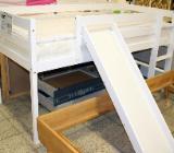 NEU: Kinderbett, Hochbett mit Rutsche: 90 x 200 cm - Delmenhorst