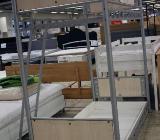 NEU: Metall Etagenbett, Hochbett, integr. Lattenrost : 90 x 200 cm - Delmenhorst