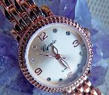 """Damen-Marken-Armbanduhr """"rose'goldfbg."""" poliert, Gliederarmband, ungetragen - Neu - Diepholz"""