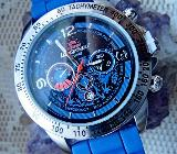Herren-Sport-Armbanduhr, Datumsanzeige, Silikonarmband, noch ungetragen/neu! - Diepholz