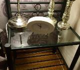 Nachttisch Schnörkel Schwarz Metall - Verden (Aller)