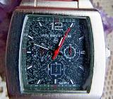 Markante Herren-Armbanduhr mit Leder-Uhrenarmband, noch ungetragen/neu! - Diepholz