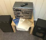 Yamaha Stereoanlage Silber und Boxen - Syke