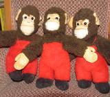Steiff Affen mit roter Hose - Bremen