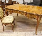 NEU: REDUZIERT! königlicher Schreibtisch mit Stuhl - Delmenhorst