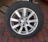 Alu-Felgen mit Sommer-Reifen für Mazda 3 - Top-Zustand - Vechta