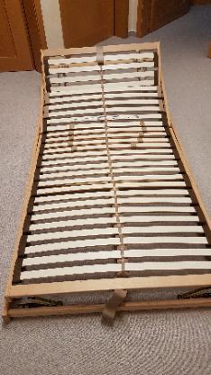 Lattenrost 100X200 cm, 3-fach höhenverstellbar