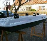 Thule Dachbox Combi 250 mit Grundträger für Dachreling - Weyhe