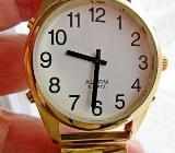 You Speak English? Edelst.-Armbanduhr mit Sprachansage, Flexo-Gliederarmband, Zustand top! - Diepholz
