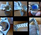Marken-Chronograph, Edelstahl, Multifunktion, Gliederarmband, Anleitung - Top - Diepholz