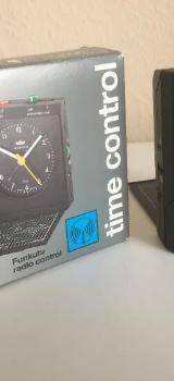 Braun time control AB 314 fsl Funkuhr schwarz -NEU- - Bremen