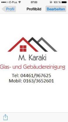 Glas und Gebäudereinigung  M.Karaki