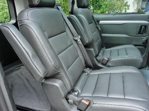 Autositze Leder schwarz