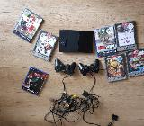 Playstation 2 inkl. Spielen und Controller - Syke