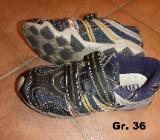 Sneaker Halb-Schuhe Klett-Schuhe Gr. 36 - Bremen