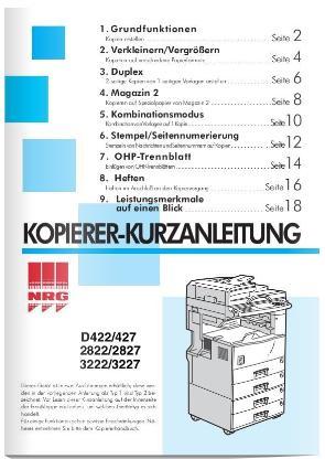 Prof. Kopierer, Drucker, Fax