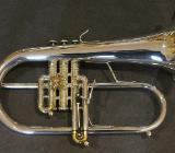 Neuw. Stomvi Mahler Titan Brass Band Romailler - Flügelhorn. Mod. 5944 mit Koffer - Bremen Mitte