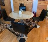 Esstisch mit 4 passenden Stühlen - Achim