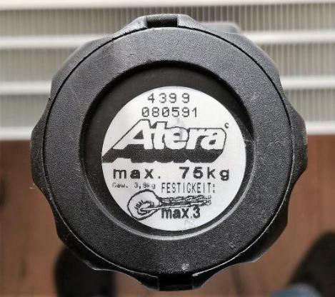 Atera Grundträger für PKW mit offener Dachreling - Verden (Aller)