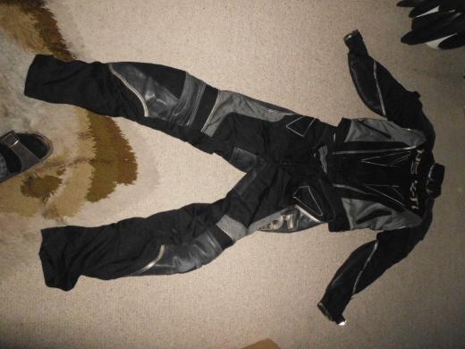 Motorrad Leder-Anzug (Gore-Tex)