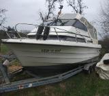 Kajütboot Motorboot Draco 2500 TC - Bassum