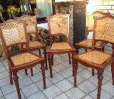 8 Antike Gründerzeitstühle - Stuhr