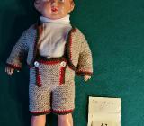Schildkröt Puppe Nr. 36 Junge mit bayrischen Gewand TOP - Weyhe