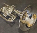 Yamaha Mellophon versilbert Mod. YMP 201 MS inkl. Koffer - Bremen Mitte