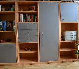 Schrankwand zu verschenken - Buche 191 cm breit - Bremen