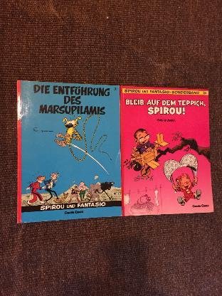 2 Spirou und Fantasio Comics