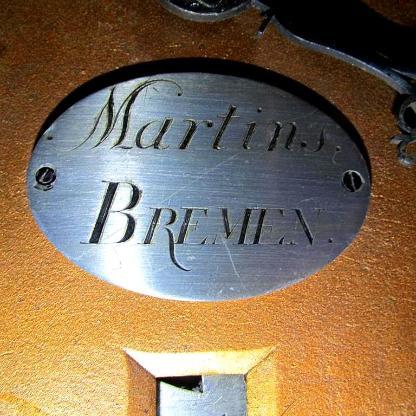 Standuhr MARTINS Bremen, antik