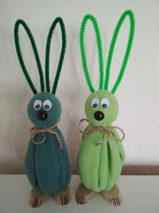 Osterhasen / Hasen zur Deko