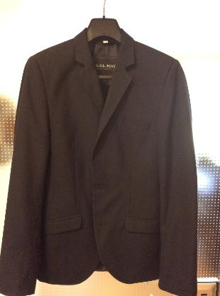 schicker Anzug, dunkelblau, Größe 170