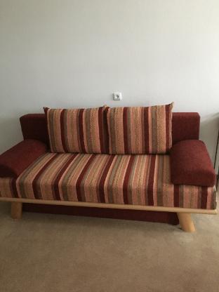 Couch zum Schlafen mit Bettkasten